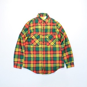 Deadstock★ BIG MIKE cotton FLANNEL Shirts
