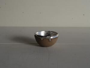 銀彩ぐい呑小鉢 1
