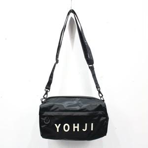 【美品】Y-3 / ワイスリー   YOHJI グラフィックミニバッグ   ブラック   メンズ