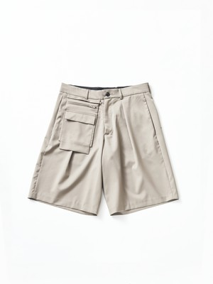 Lownn Utility Short Taupe 20S-887601