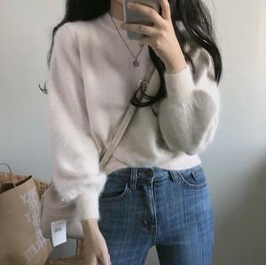 モヘアニットセーター【mohair knit sweater】