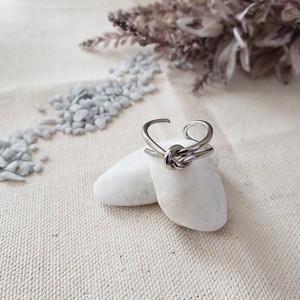 【送料無料】silver925 Lien design ring (リアンデザインリング)