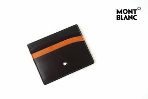 モンブラン|MONTBLANC|マイスターシュティック|カードケース|6cc|Brown-Tan