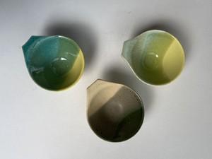おやつカップ色違い3点セット pur-6