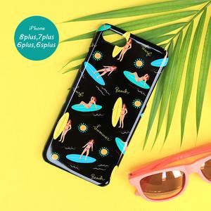 iPhone スマホケース 【surf】 iPhone8plus/7plus/6plus/6splus/XR/XS Max