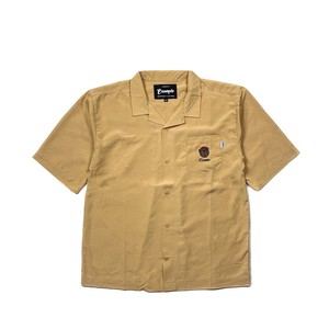 BB BEAR EMBROIDERY SHIRT / MUSTARD