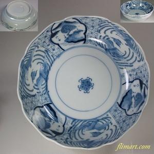 染付膾皿W5927