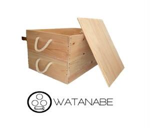 木箱 専用フタ -ヒノキ- WATANABEオリジナル