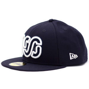NEW ERA × 100A 59FIFTY *NAVY