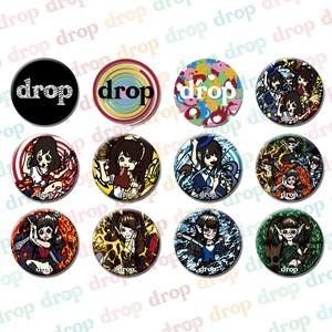 drop缶バッチ(全12種)