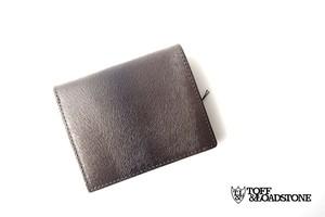 トフアンドロードストン|toffandloadstone|2つ折り財布|ミンク型押しレザー|Mini wallet Mink|TMA-046
