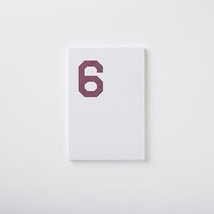 MEMO PAD 「6」