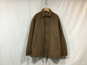 "WHOWHAT""WOOL COACH JACKET CAMEL"""