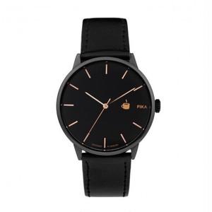 【CHPO】Khorshid Fika Black dial / Black vegan leather strap