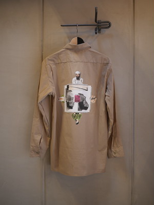 FUCKINGAWESOME / Quadrophenia L/S Workshirt (Military Khaki)