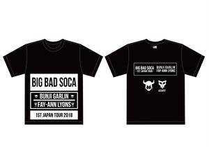 <予約受付> 『BIG BAD SOCA -BUNJI GARLIN & FAY-ANN LYONS 1st JAPAN TOUR 2018-』記念Tシャツ
