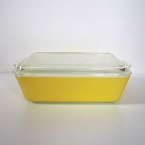 PYREX レフリジレーターL 黄色