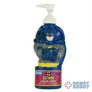 バットマン 青 バブルバス シャンプーボトル ソーキー ポンプ付き フィギュア