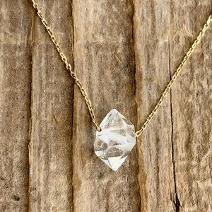10K Herkimer Necklace