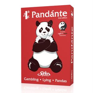 パンダンテ セカンドエディション(拡張入り)(Pandante 2nd Edition) 日本語説明書・シール付き
