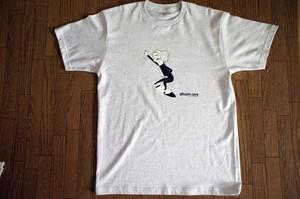 "atirom-avs  web限定Tシャツ ""APEX"" アッシュ (超極小量生産)"