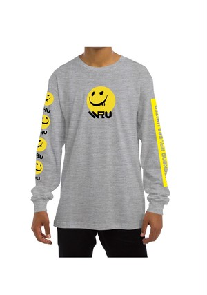 #WRU2017 LONG SLEEVE T-SHIRT [SIZE S] / GREY