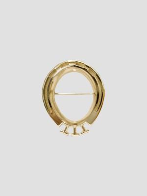 TTT_MSW Brooch Gold TTT-2021AW-ACC03