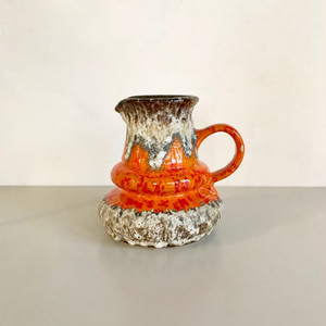 "Vintage W.Germany Pottery Vase ""Jopeko"" 403/16 西ドイツ"