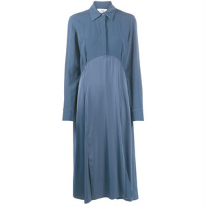 VVB CRAPE DRESS BLUE