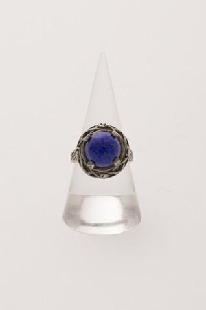 【Run Rabbit Run Vintage 】Blue stone ring
