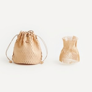 i ro se  net bucket bag mini                           再入荷