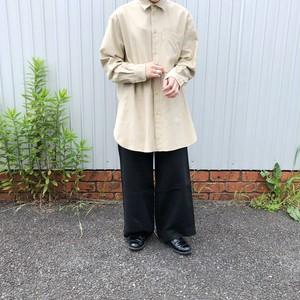 shankar cotton-flannel oversized shirt| unfil