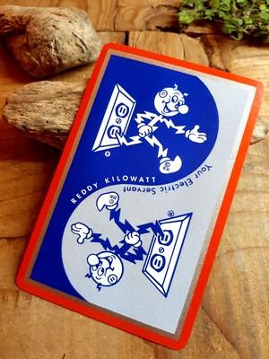 レディキロワット ビンテージ カード トランプ アメリカ雑貨 アメリカンヴィンテージ キャラクター 電力会社 レトロ