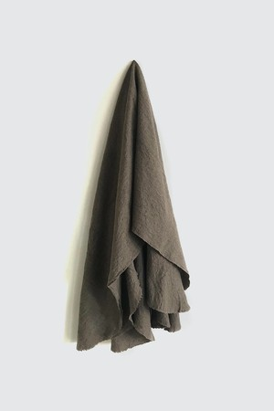 01473-2 muji cut stole / brown