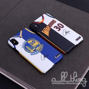「NBA」ウォリアーズ ステフィンカリー コラージュ風 ジャージ サイン入り iPhoneXR iPhone8 ケース