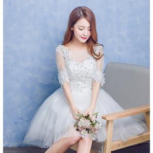 大特価 パーティードレス ミニドレス ショートドレス パーティドレス 結婚式 ドレス ワンピース 膝丈 お呼ばれ ベアトップ 二次会ドレス 大きいサイズ  bd169