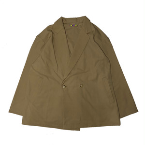 (is-ness) HIGH COUNT CHAMBRAY DB JACKET