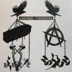 シノメノシ/AXE HELVETE - UNUSED FREEDOM split CD