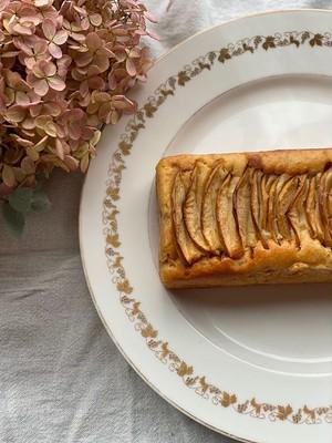 りんごとさつまいものveganケーキ