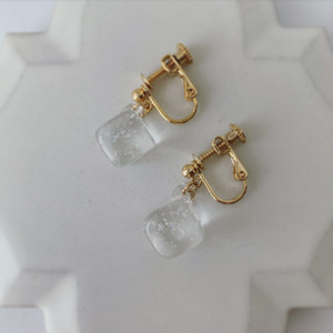 Cube drop / Earring