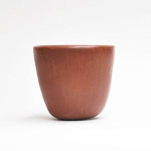 EREACHE エレアチェ 素焼き 赤茶 コップ 食器 メキシコ オアハカ No.5