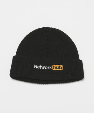 Network hub Knit Cap [Black]