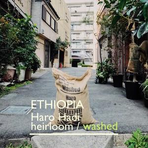 ETHIOPIA【washed】-中深煎- 100g