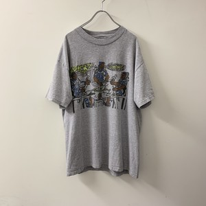 QUICKS プリントTシャツ size L メンズ 古着