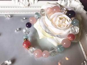 【ブレス + 浄化水晶】宇宙と繋がり、究極の愛と幸せが溢れ出すジュエリー