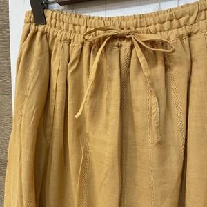 コットンドビーレイヤードスカート