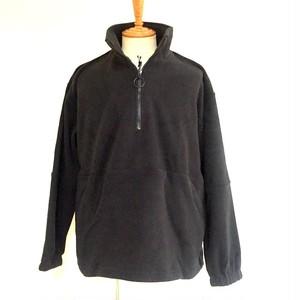 Fleece Half Zip Pullover Black