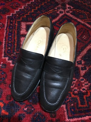.CHANEL COCO MARC LEATHER LOAFER MADE IN ITALY/シャネルココマークレザーローファー 2000000036700