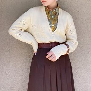 (PAL) design knit cardigan