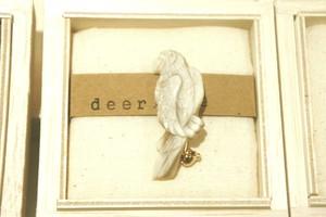 【受注生産】ルリコンゴウのブローチ*deer bone*